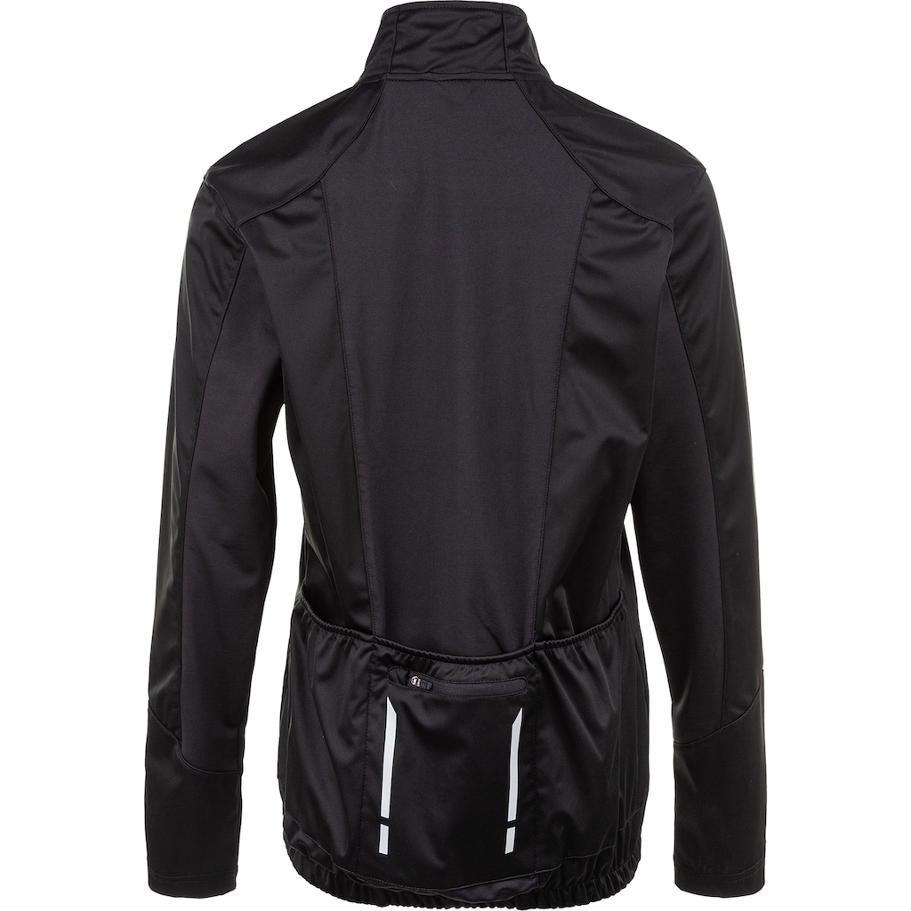 ENDURANCE Fahrradjacke »ZIVA W Membrane Bike L/S Jacket«, mit reflektierenden Details