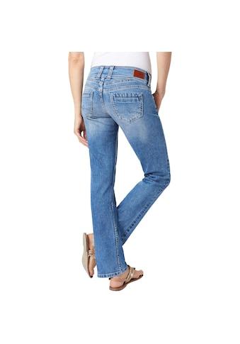 Pepe Jeans Straight-Jeans »GEN«, mit 1-Knopf Bund kaufen