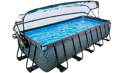 EXIT Framepool BxLxH: 250x540x100 cm, mit Sonnendach kaufen