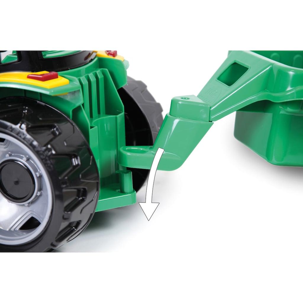 Lena® Spielzeug-Traktor »Giga Trucks«, mit Anhänger und Frontlader; Made in Europe