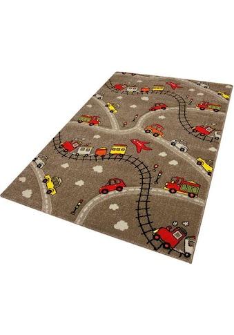 Kinderteppich, »Momo Straße«, Festival, rechteckig, Höhe 13 mm, maschinell gewebt kaufen