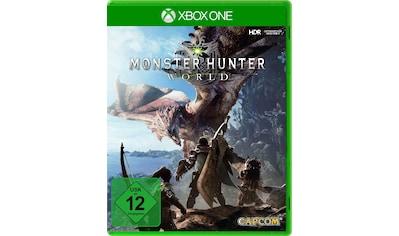 Monster Hunter World Xbox One kaufen
