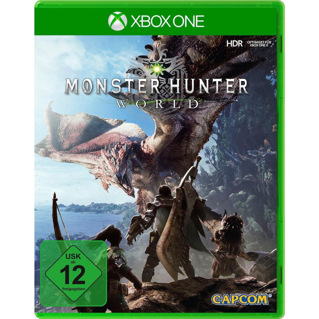 Capcom Spiel »Monster Hunter World«, Xbox One, Software Pyramide