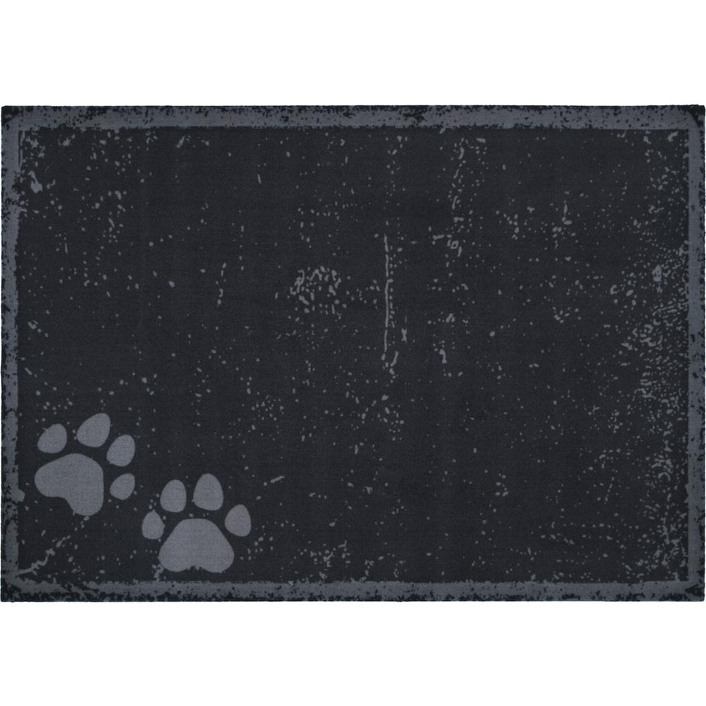 HANSE Home Fußmatte »Paws«, rechteckig, 4 mm Höhe, Fussabstreifer, Fussabtreter, Schmutzfangläufer, Schmutzfangmatte, Schmutzfangteppich, Schmutzmatte, Türmatte, Türvorleger