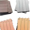 HOME DELUXE Terrassenplatten, WPC-Fliesen