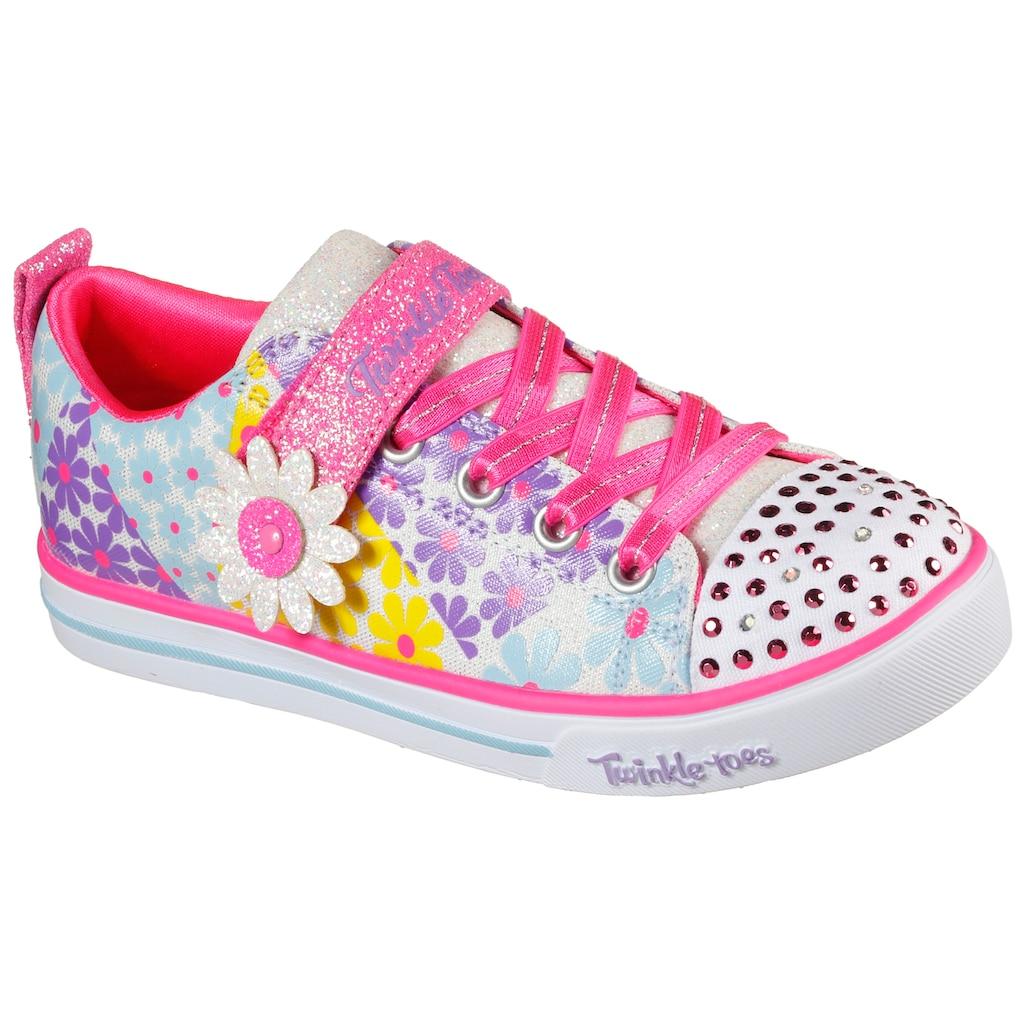 Skechers Kids Sneaker »SPARKLE LITE - SUPER BLOOMS«, mit Allover-Blumenprint