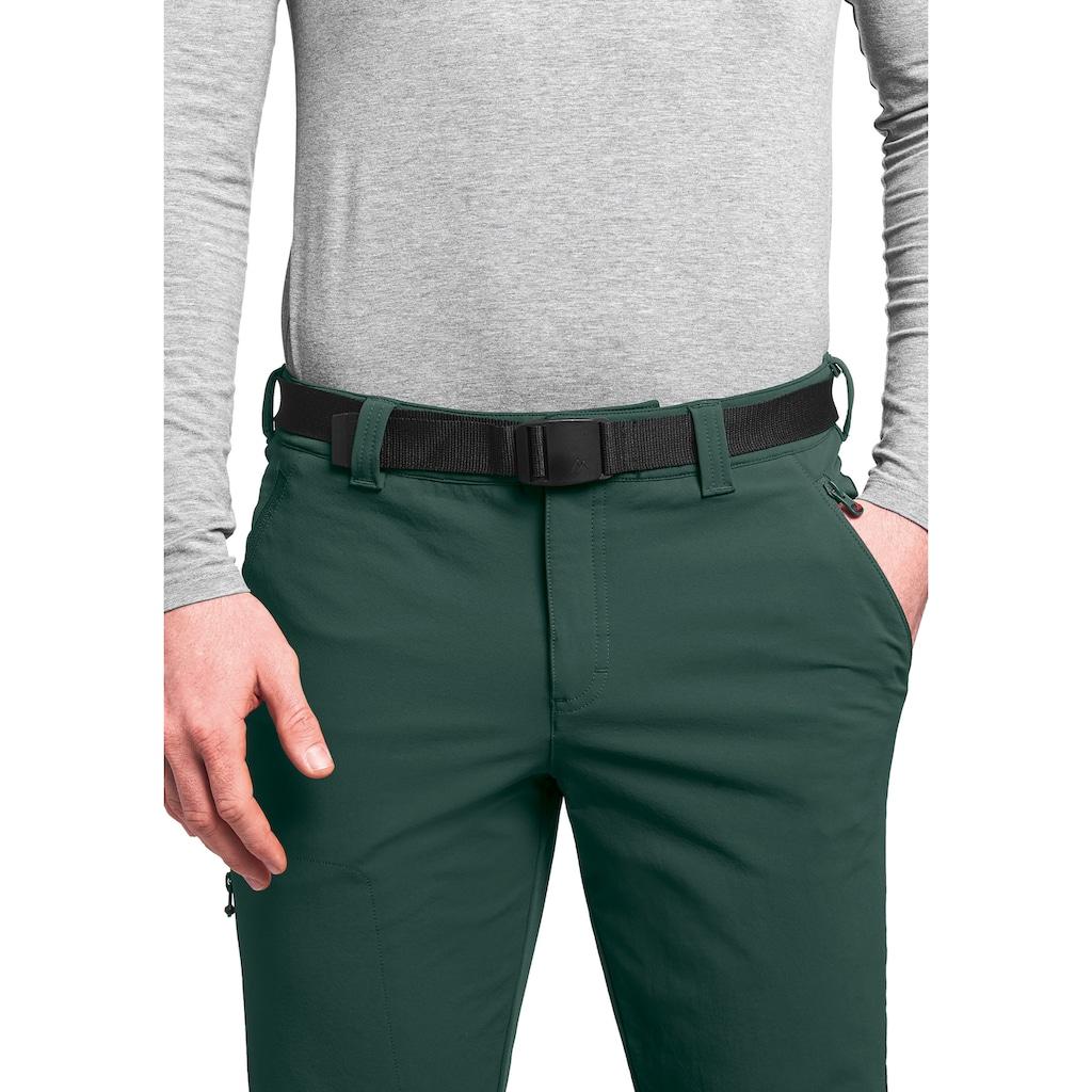 Maier Sports Funktionshose »Naturno slim«, Schmal geschnittene Trekkinghose, elastisch