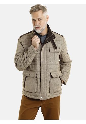 Jan Vanderstorm Steppjacke »CLEAS«, mit edlem Fischgratdessin kaufen