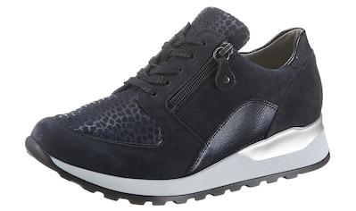 Waldläufer Keilsneaker »Hiroko-Soft«, mit Lackleder-Applikation, H-Weite kaufen