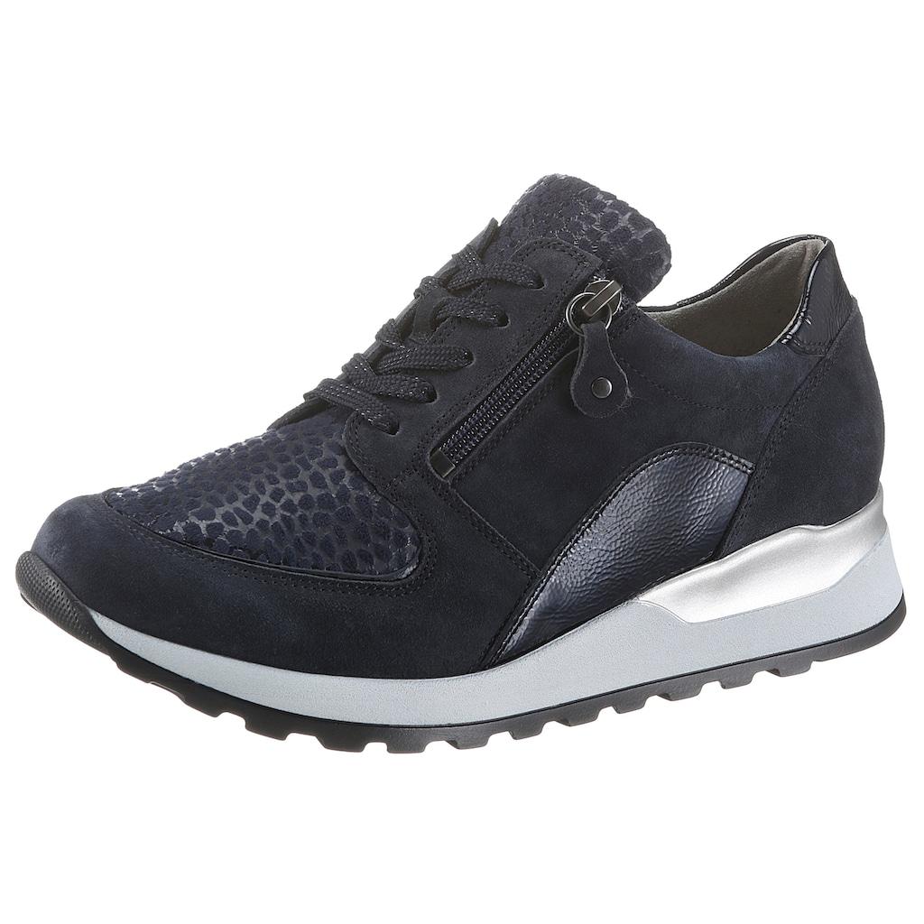 Waldläufer Keilsneaker »Hiroko-Soft«, mit Lackleder-Applikation, H-Weite