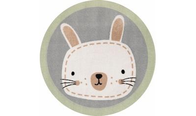 Kinderteppich, »Leslie«, Zala Living, rund, Höhe 7 mm, maschinell getuftet kaufen