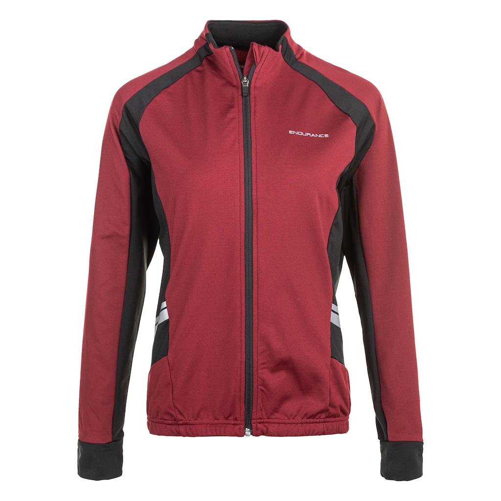 ENDURANCE Fahrradjacke »VERANNE W Bike Jacket«, mit großen reflektierenden Elementen