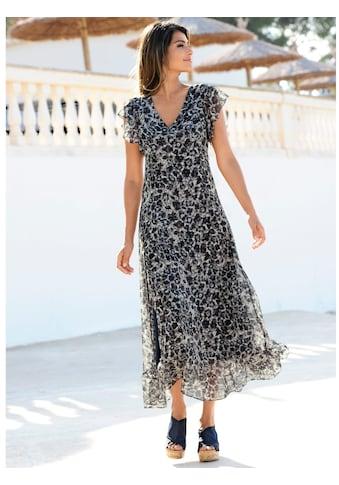 Alba Moda Strandkleid mit Volants kaufen