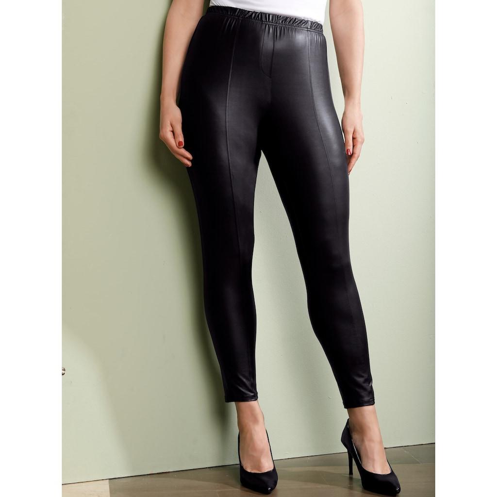 MIAMODA Leggings, aus modischem Lederimitat