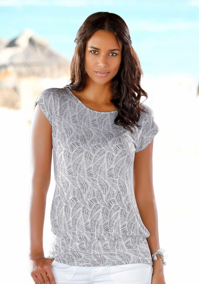 LASCANA Longshirt | Bekleidung > Shirts > Longshirts | Weiß | Lascana