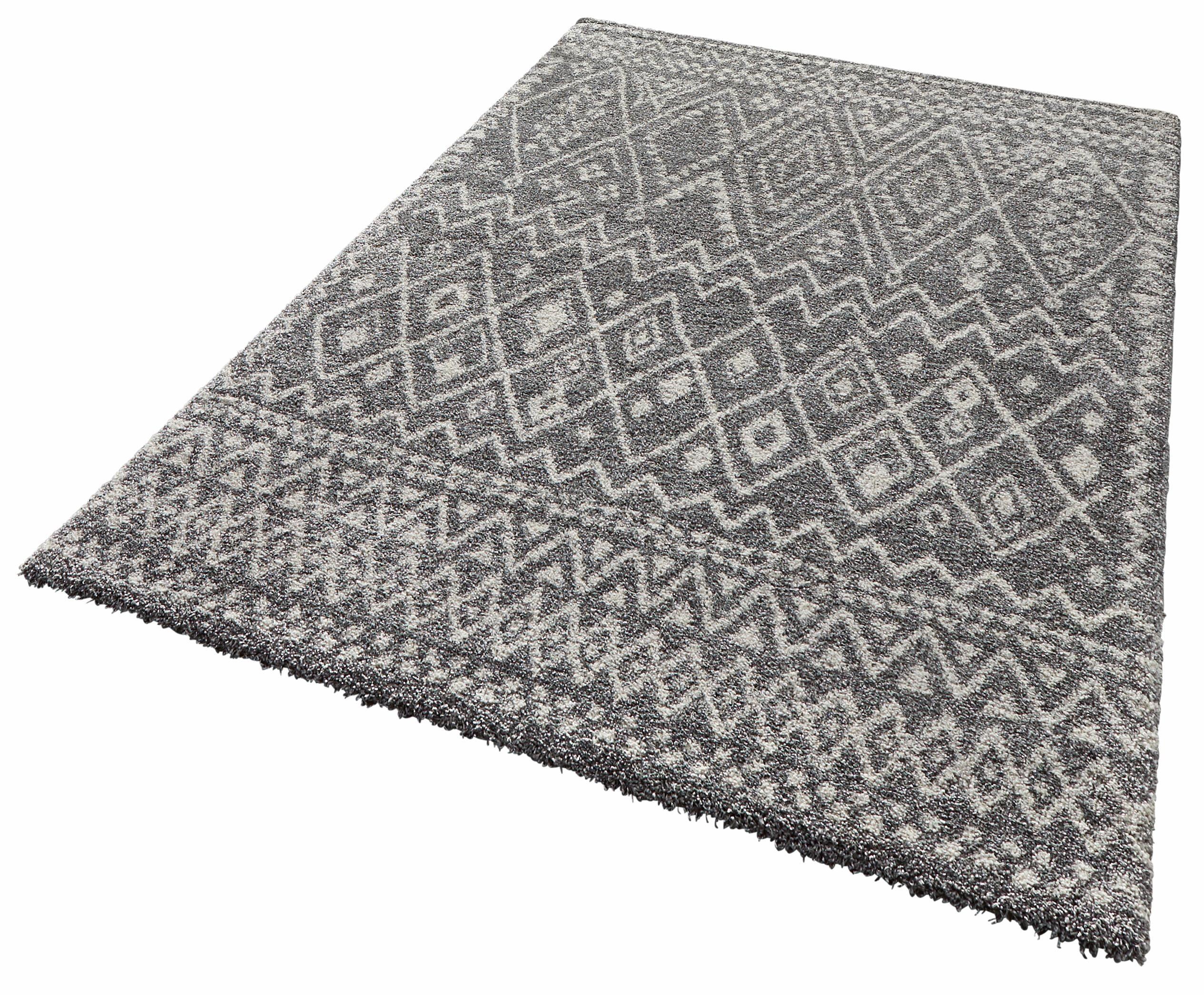 Hochflor-Teppich Inka MINT RUGS rechteckig Höhe 25 mm