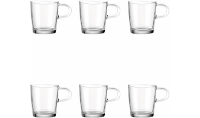 LEONARDO Becher »Loop«, (Set, 6 tlg.), für Tee und Kaffee kaufen