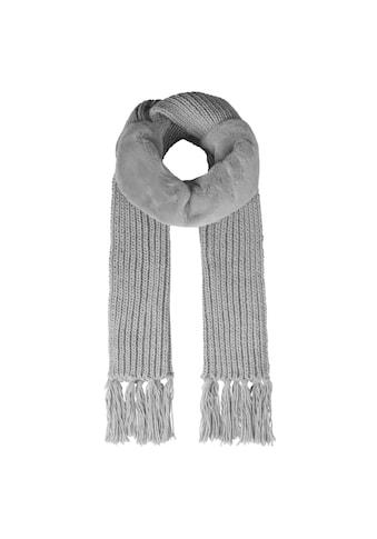 Codello Kuscheliger Longschal mit Fake Fur-Einsatz kaufen