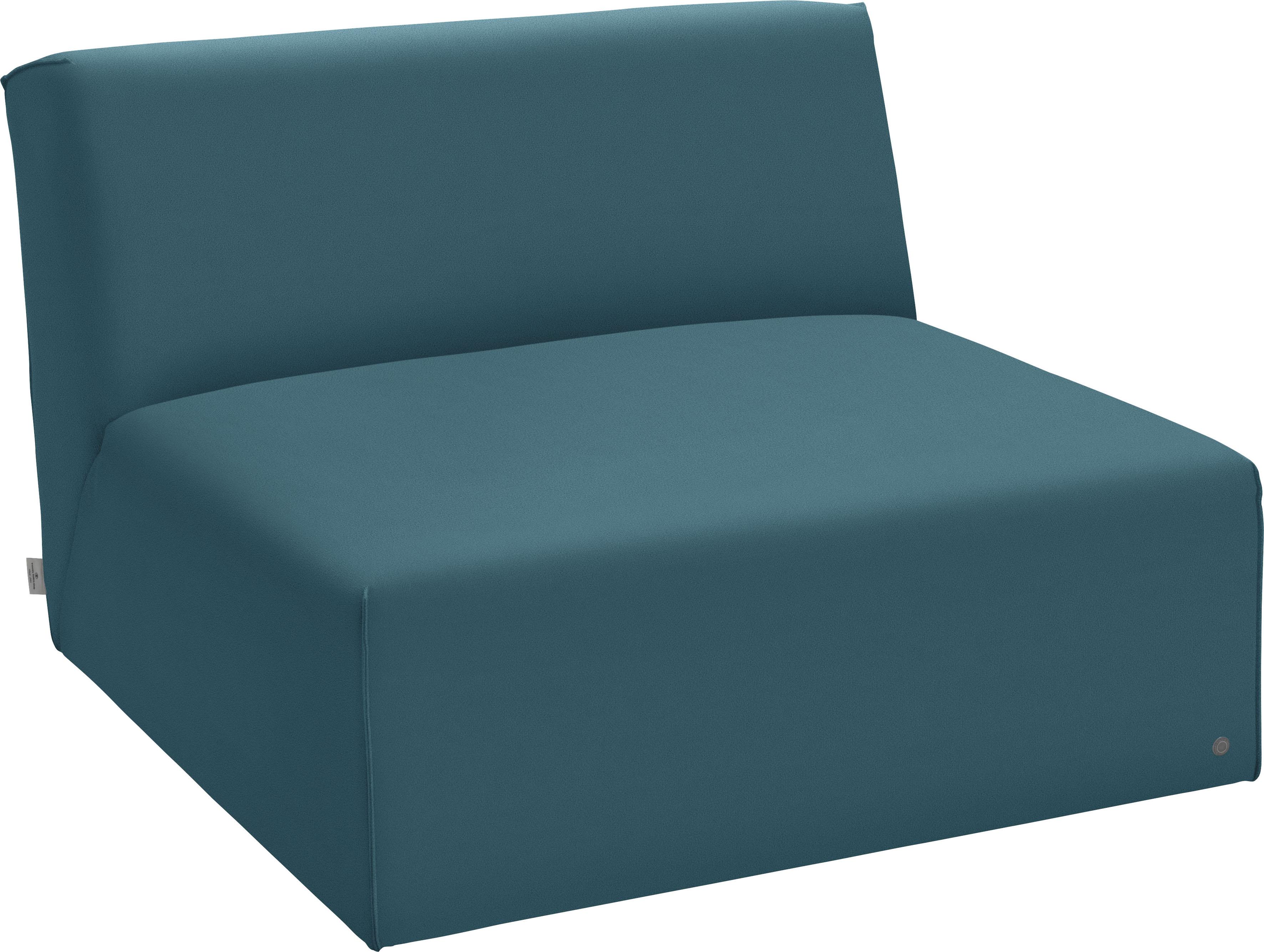 TOM TAILOR Sofaelement ELEMENTS, Sitzelement ohne Armlehne grün Sofaelemente Sofas Couches