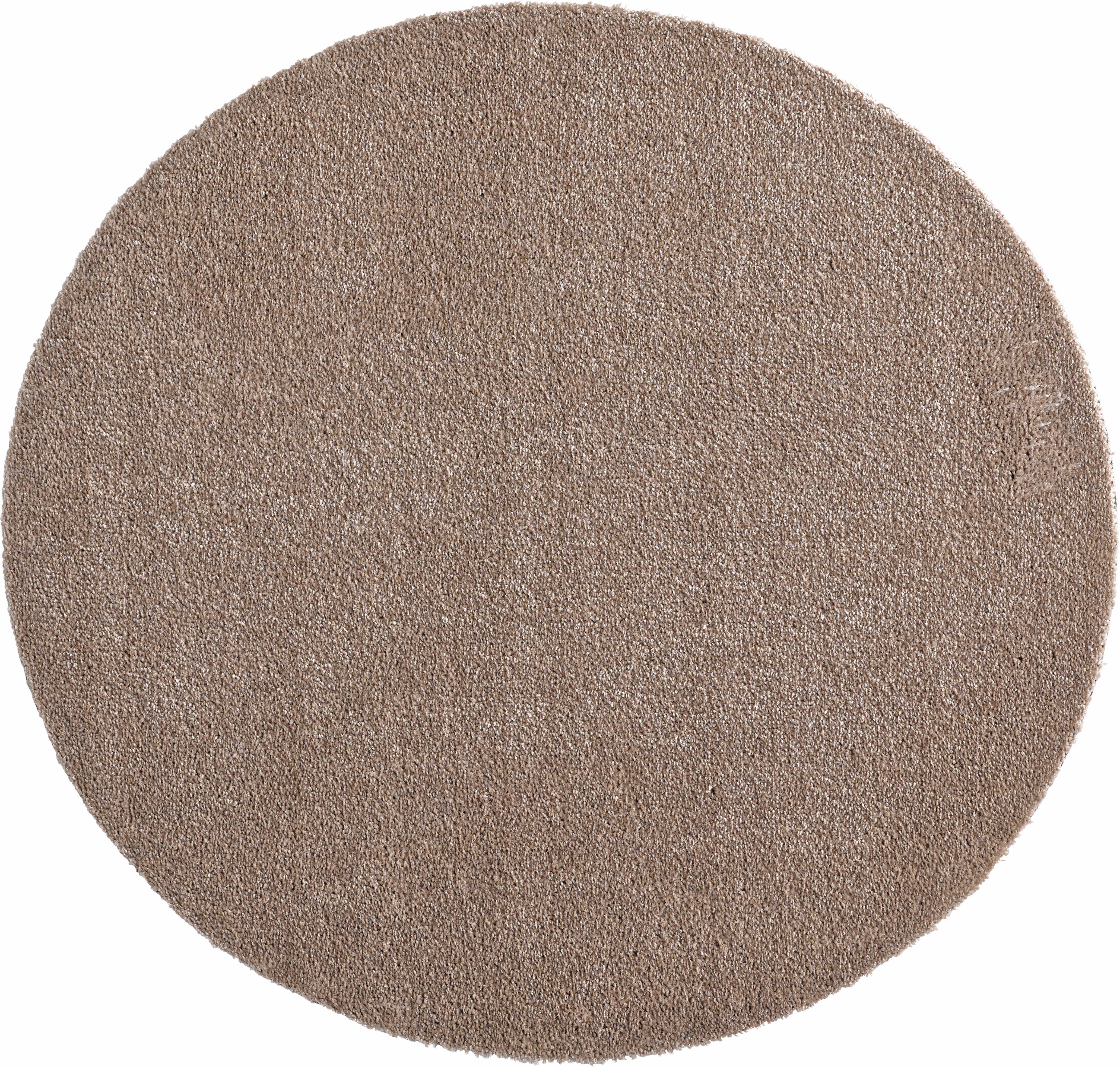 Teppich Deko Soft HANSE Home rund Höhe 7 mm maschinell getuftet