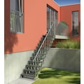 Dolle Treppengeländer »Gardentop Handlaufset 3«, für 6 Stufen