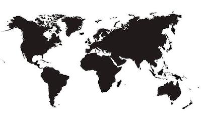 Wall-Art Wandtattoo »selbstklebende Weltkarte modern« kaufen
