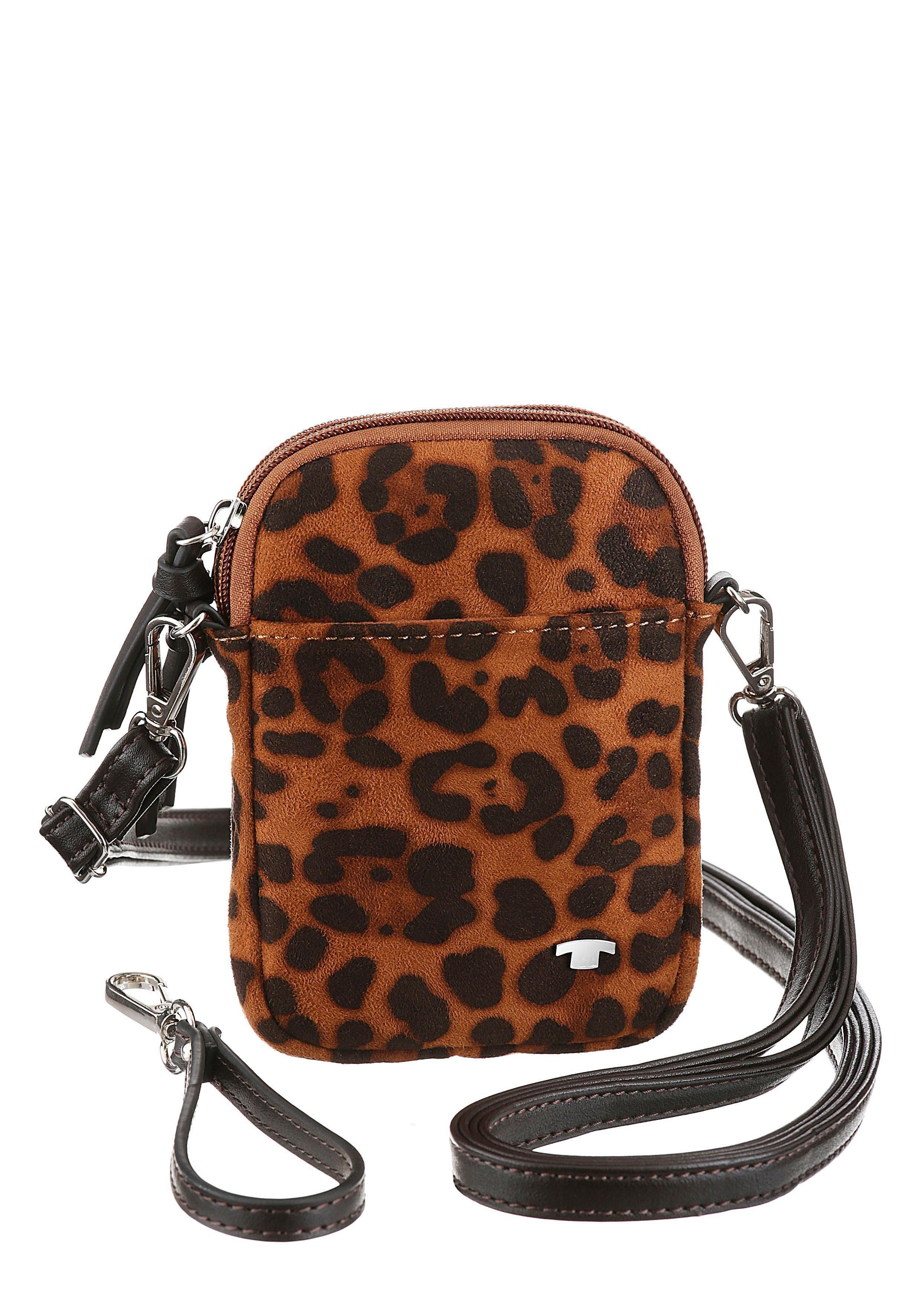 TOM TAILOR Mini Bag PHONE BAG | Taschen > Handtaschen > Abendtaschen | Braun | Tom Tailor