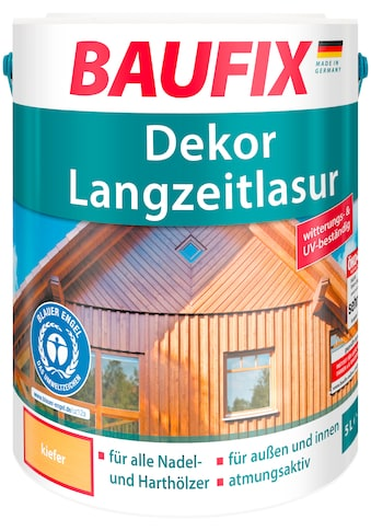 BAUFIX Holzschutz - Lasur »Kiefer«, Dekor - Langzeitlasur kaufen