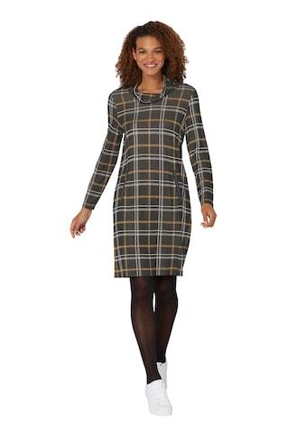 Inspirationen Jacquard - Kleid im Karomuster kaufen