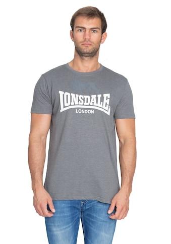 Lonsdale T-Shirt in melierter Optik kaufen