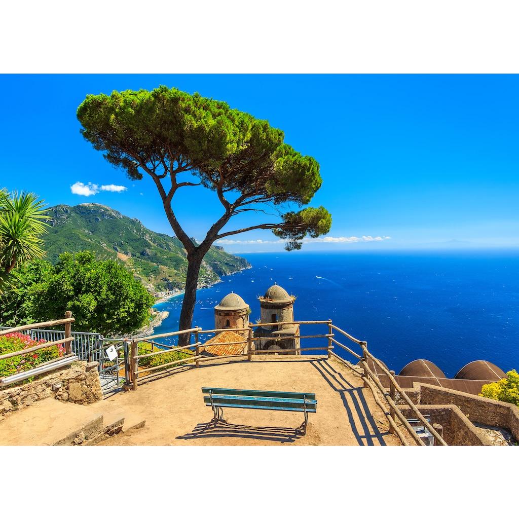 Papermoon Fototapete »Panorama Ravello Amalfi«