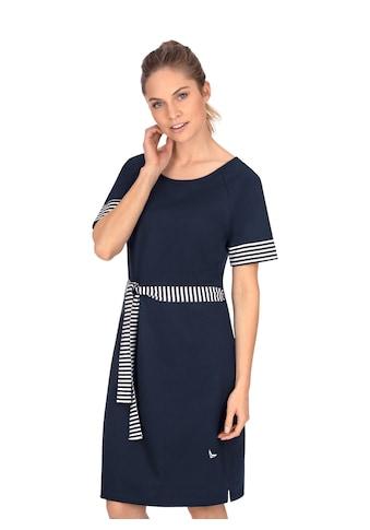 Trigema Jerseykleid, mit modischem Bindeband kaufen