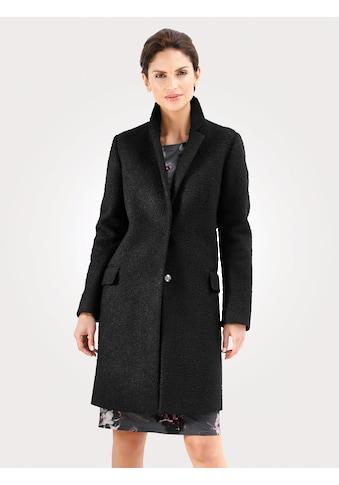 Mona Mantel aus Bouclé-Qualität kaufen