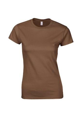Gildan T-Shirt »Damen Soft Style Kurzarm« kaufen