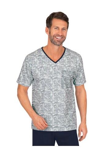 Trigema Pyjamaoberteil, mit kurzen Armen kaufen
