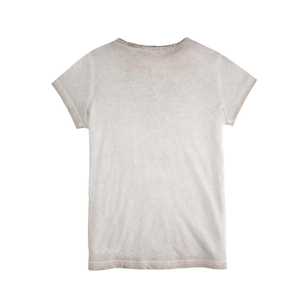 Hangowear Trachtenshirt, mit coolem Druck