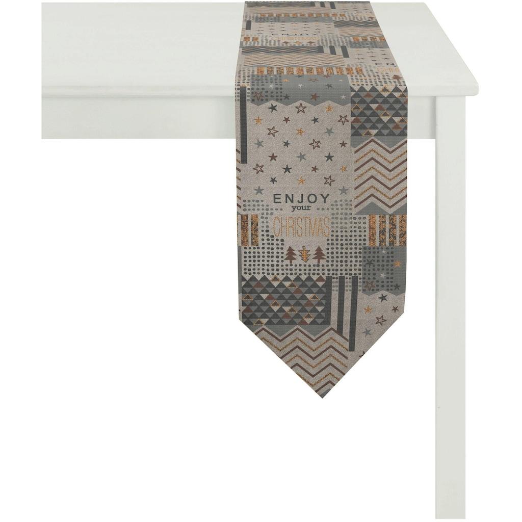 APELT Tischband »5200 Christmas Elegance«