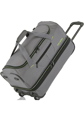 travelite Reisetasche »Basics, 70 cm, grau/grün« kaufen