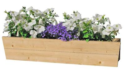 OUTDOOR LIFE PRODUCTS Blumenkasten , 90 cm, Fichtenholz kaufen
