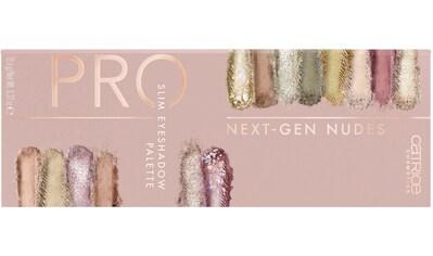 Catrice Lidschatten-Palette »Pro Next-Gen Nudes Slim Eyeshadow Palette« kaufen