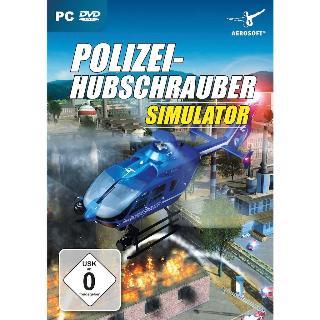 aerosoft Spiel »Polizeihubschrauber Simulator«, PC