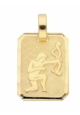 Adelia´s Kettenanhänger »333 Gold Sternzeichen Anhänger Schütze«, Goldschmuck für... kaufen