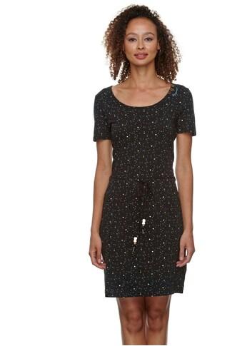 Ragwear Jerseykleid »PELIADA ORGANIC«, (2 tlg., mit Bindeband), mit romantischem... kaufen