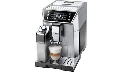 De'Longhi Kaffeevollautomat »PrimaDonna Class ECAM 550.85.MS, silber« kaufen