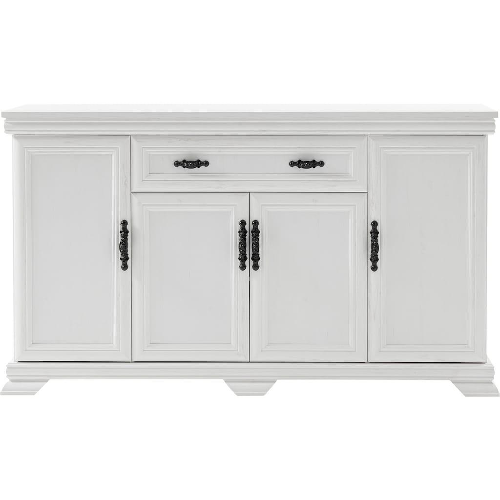 Home affaire Sideboard »Royal«, exclusiv Design im Landhausstil