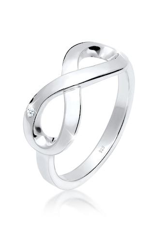 Elli Diamantring »Infinity Ewig Diamant (0.02 ct.) 925 Silber« kaufen