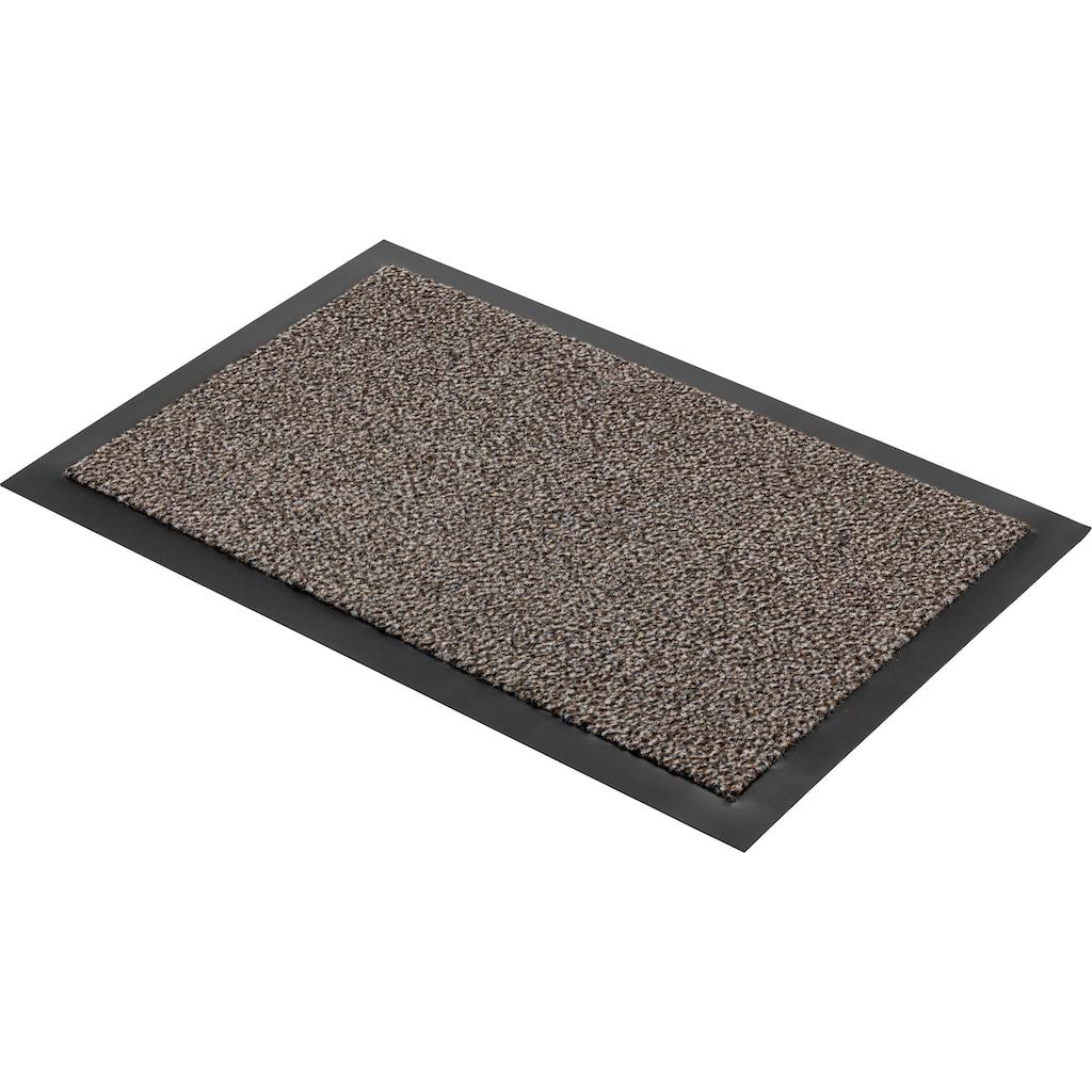 ASTRA Fußmatte »Turmalin 622«, rechteckig, 10 mm Höhe, Schmutzfangmatte, In -und Outdoor geeignet