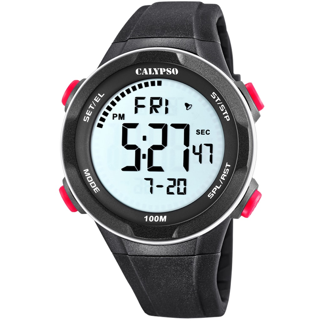 CALYPSO WATCHES Chronograph »Digital For Man, K5780/2«