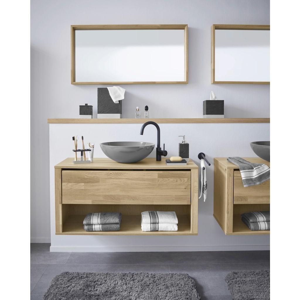 Guido Maria Kretschmer Home&Living Badaccessoires-Sets »Mason«, in Schiefer-Optik