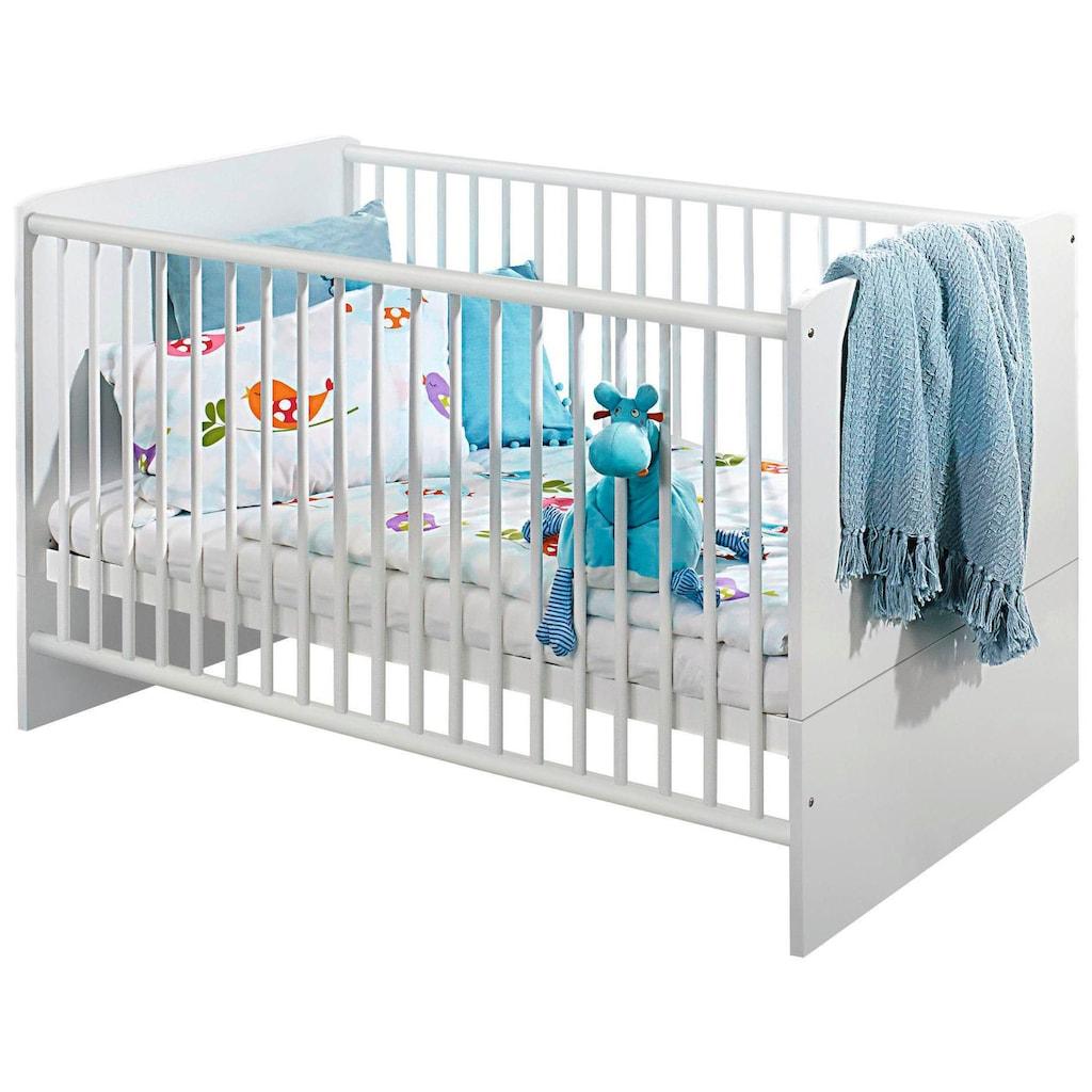 rauch ORANGE Babyzimmer-Komplettset »Potsdam«, (Set, 3 St.), Bett + Wickelkommode + 3 trg. Schrank